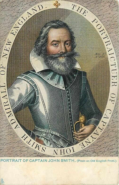 history of the colonization of north america and the role of captain john smith Kids learn about the biography of john smith founder of the jamestown first permanent english colony in north america promoting the colonization of.
