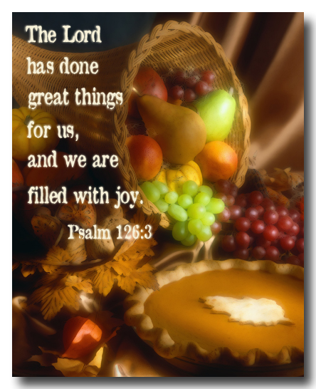 thanksgiving day prayer before meals